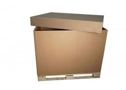 BOX PALET ARO O FAJA CARTÓN DOBLE CANAL 10 1186x784x500 mm