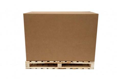 CAJAS ESTÁNDAR BOX PALET 4 SOLAPAS 1200x800x800 mm