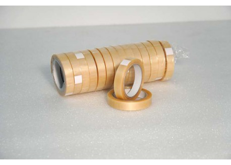 CINTAS PVC TRANSPARENTE 32 MICRAS ADHESIVO VOLVENTE 19 mm 66 ml
